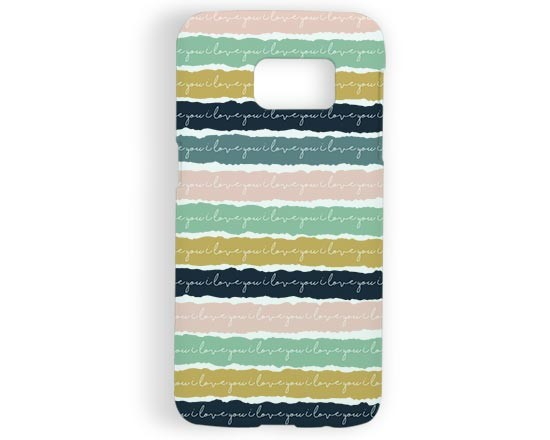 Cover Galaxy s7 3D Romantic bands