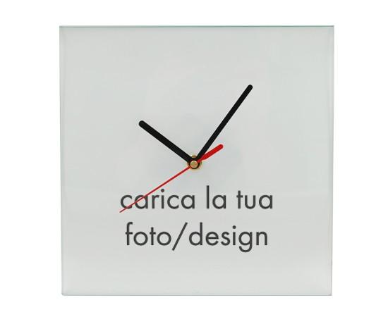 a8aa7cc1fb crea orologio quadrato in vetro. Orologio da Parete Vetro