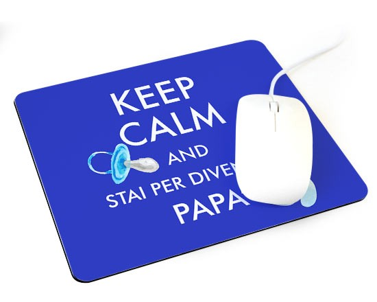 Tappetino mouse con il Keep Calm