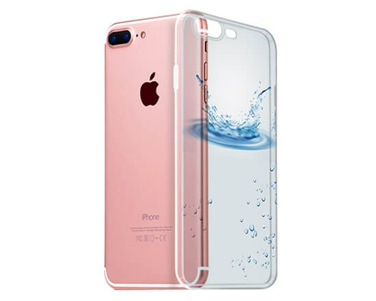 Cover Trasparente iPhone 7 Plus Splash