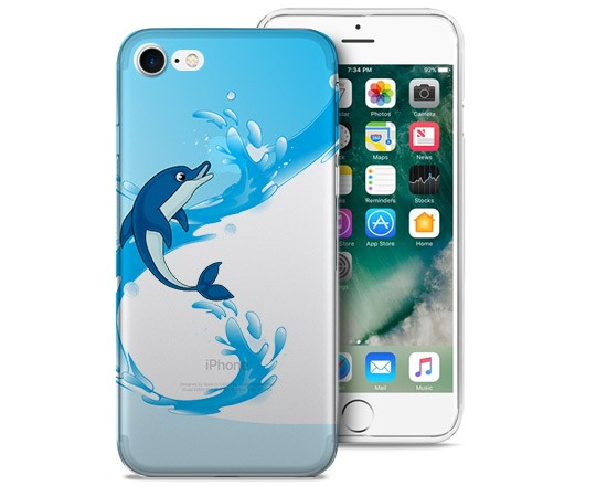 Cover Trasparente iPhone 7 Delphin
