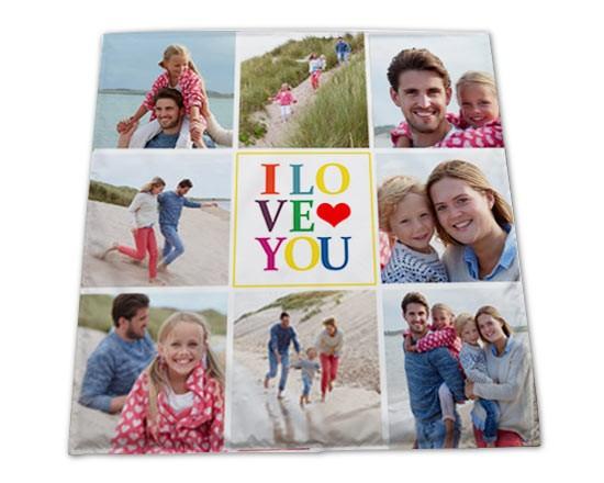 Tappeti Colorati Per Bambini : Tappeto per bambini collage colorato fotoregali.com