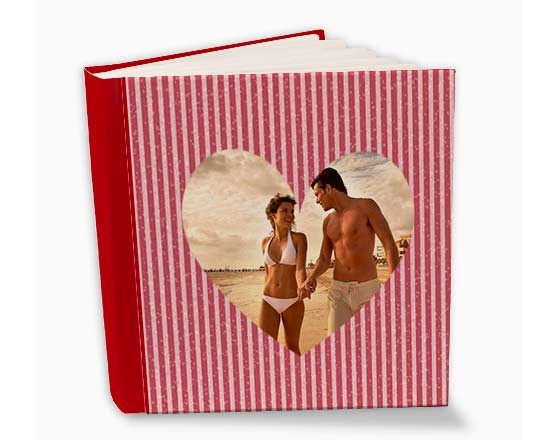 Album 26x30 con grafica love rigata