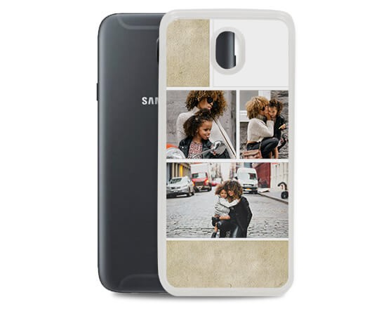 Cover in silicone Galaxy J5 Collage
