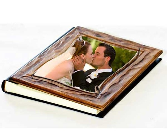 Album Matrimonio In Legno : Album legno gold fotoregali