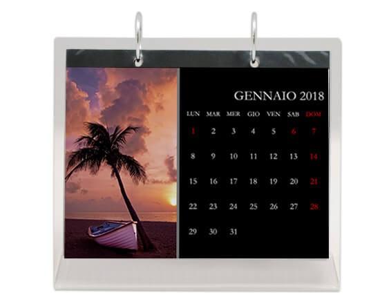 Stampa calendari da tavolo personalizzati preventivi gratis