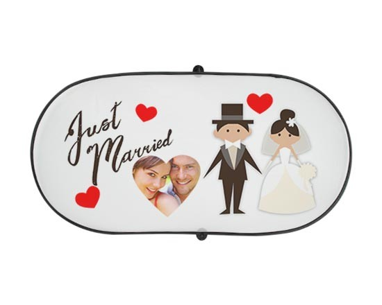 Parasole per Auto Grande Just Married
