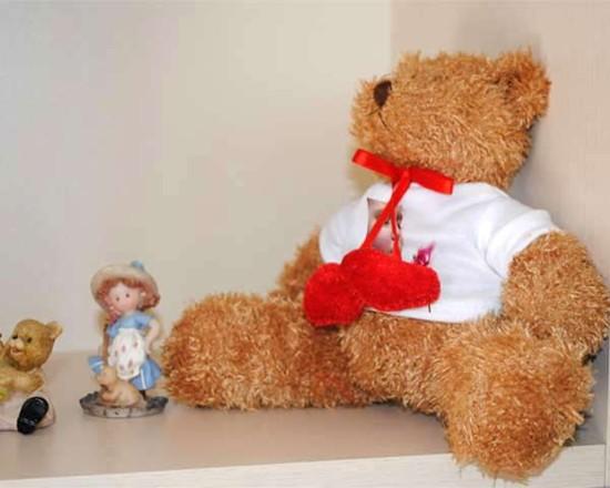 Peluche orsetto con foto fotoregali