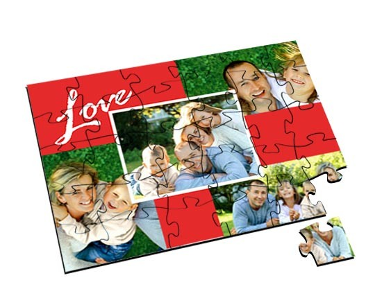 Puzzle in Legno Small 4 love