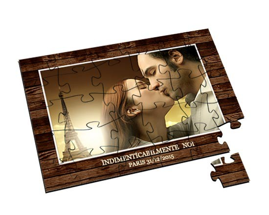 Puzzle in Legno Small Dark wood