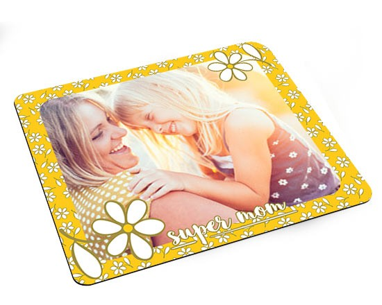 Grafica con margherite su mousepad